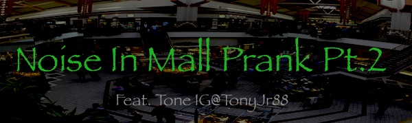 Noise In Mall Prank Pt.2