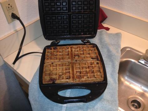 Chocolate Vegan Spelt Waffle by ULS