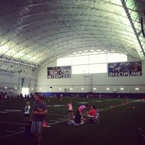 Indoor facility at Boise State University