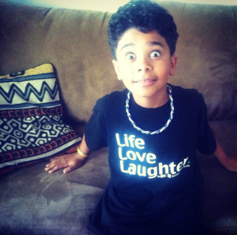 The LIFE.LOVE.LAUGHTER Tee.